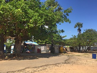 Other stalls along Passikudah beach